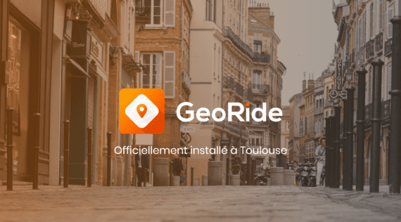 GeoRide officiellement à Toulouse ☀️