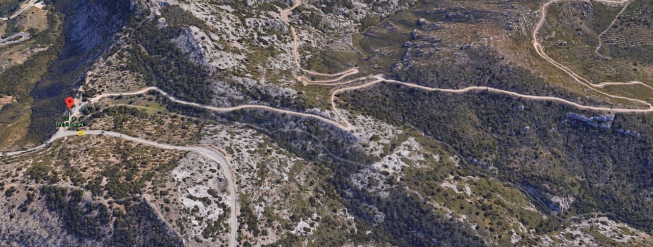Col de l'espigoulier - Google Maps©