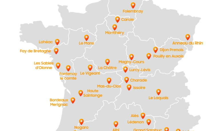 Les circuits moto en France dans chaque région