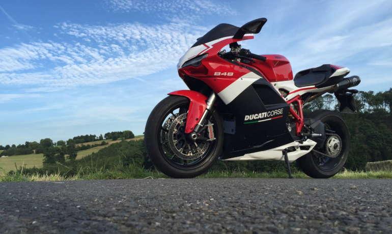 GeoRide, le traceur gps moto pour Ducati