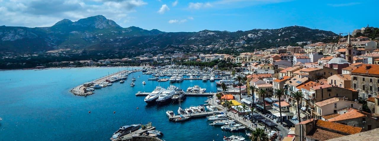 Calvi, ville en Corse