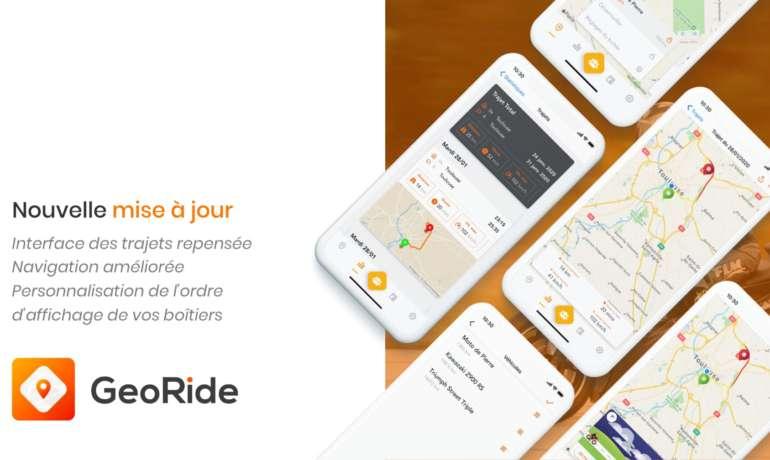 Amélioration de l'interface de vos trajets