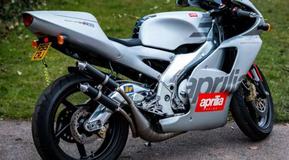 GeoRide, le traceur gps moto pour Aprilia