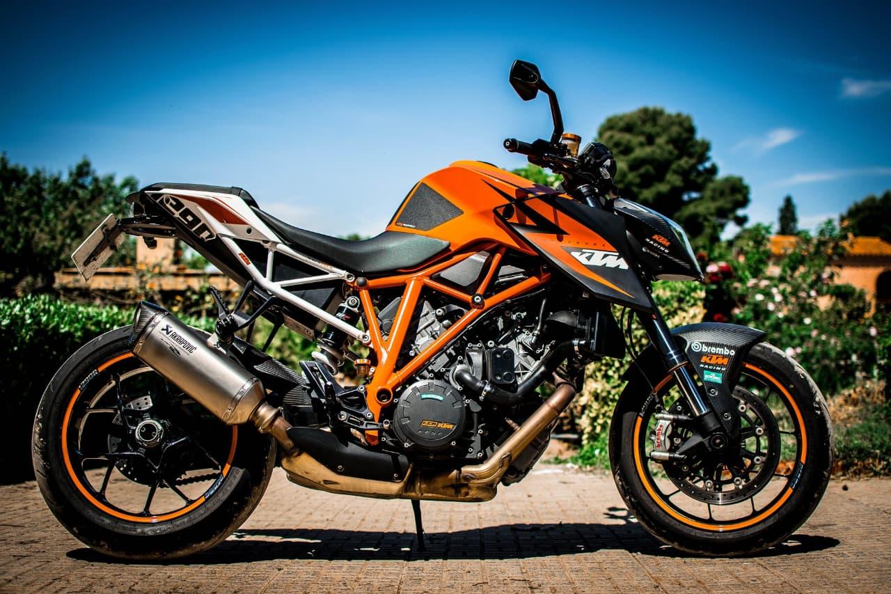 GeoRide, le traceur gps moto pour KTM