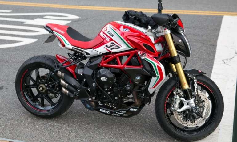 GeoRide, traceur gps moto pour MV Agusta