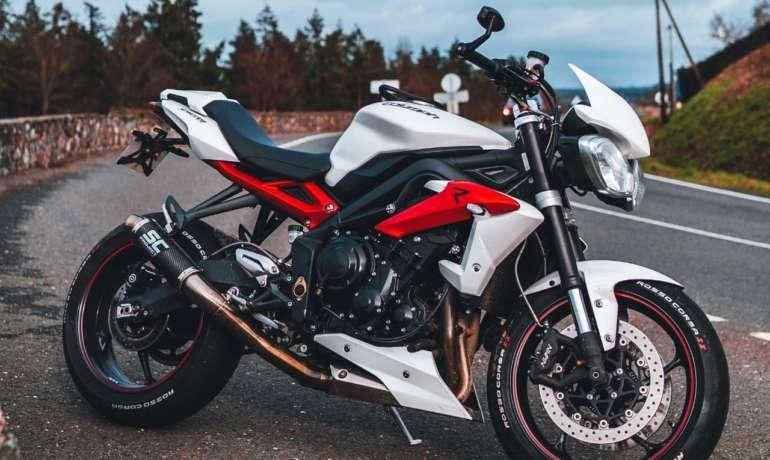 GeoRide, un traceur gps moto pour Triumph