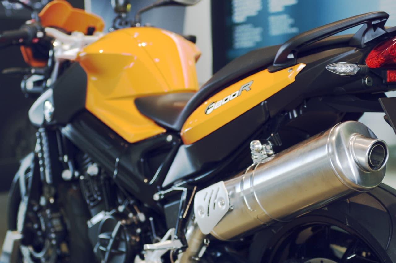 Une alarme moto sur smartphone pour BMW
