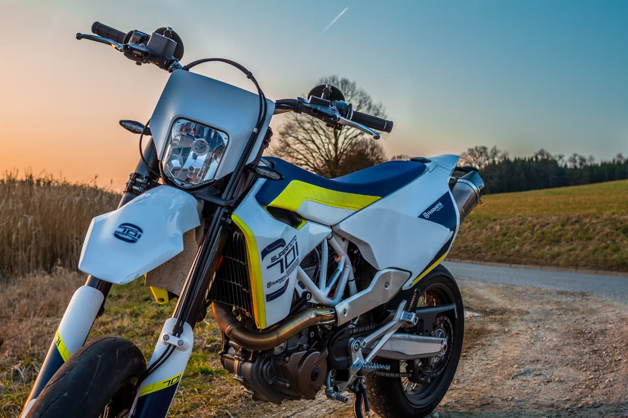 Une alarme moto sur smartphone pour Husqvarna