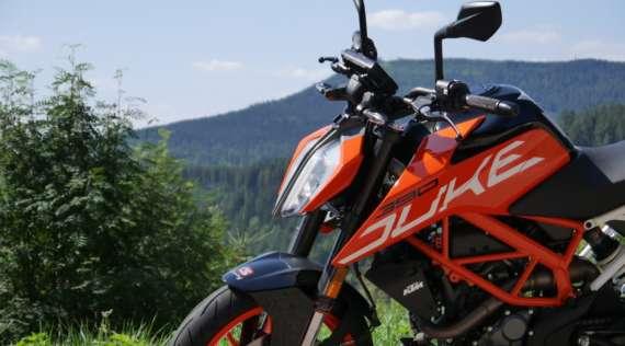 Une alarme moto sur smartphone pour KTM