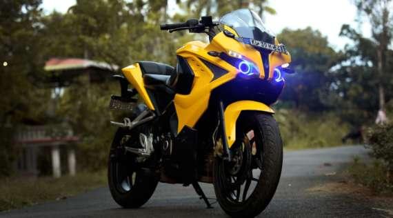 Une alarme moto sur smartphone pour Sportive