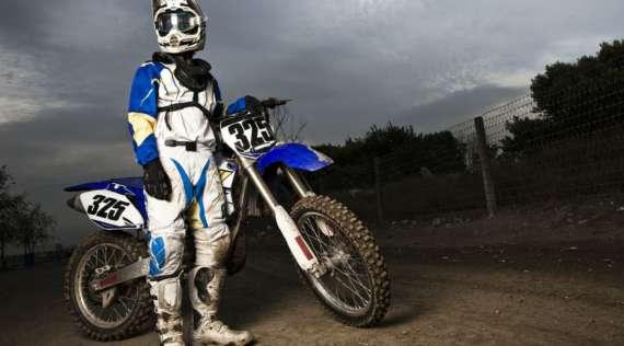 Une alarme moto sur smartphone pour motocross
