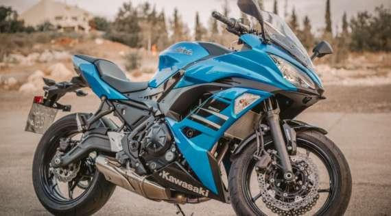 Un antivol moto connecté pour Kawasaki