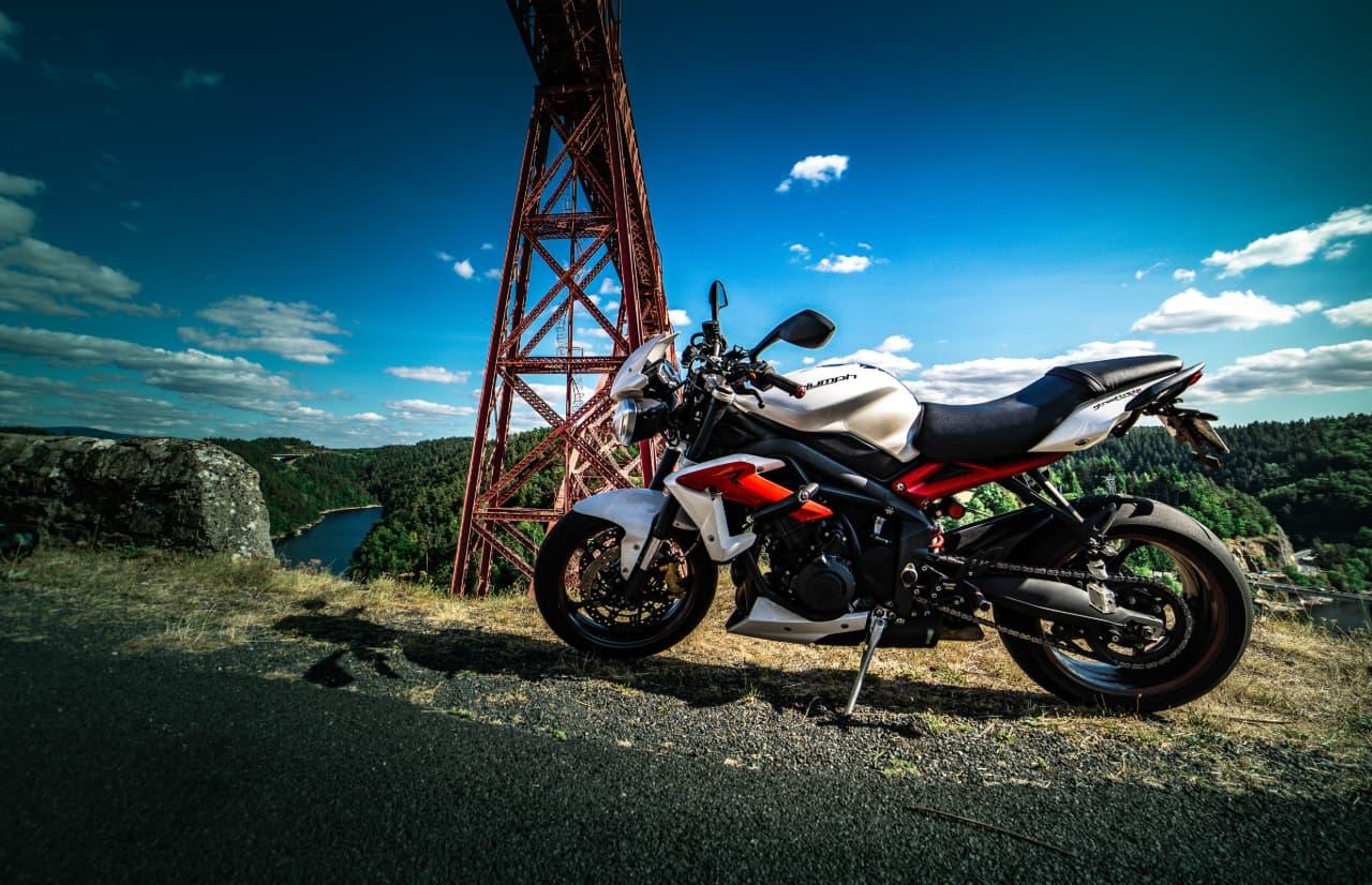 Un antivol moto connecté pour Triumph