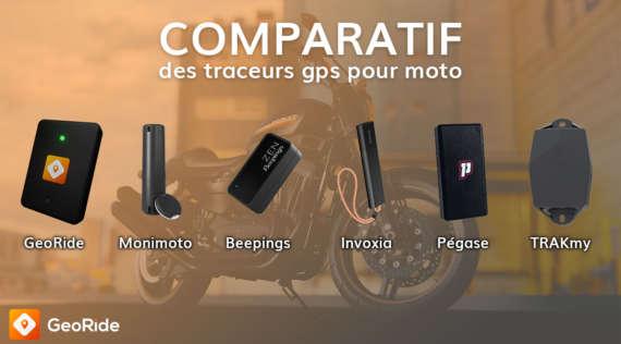 Comparatif des traceurs GPS pour moto : GeoRide, Invoxia, Monimoto…