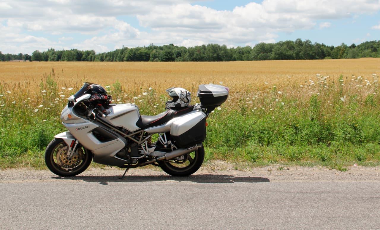 Une alarme moto sur smartphone pour routière