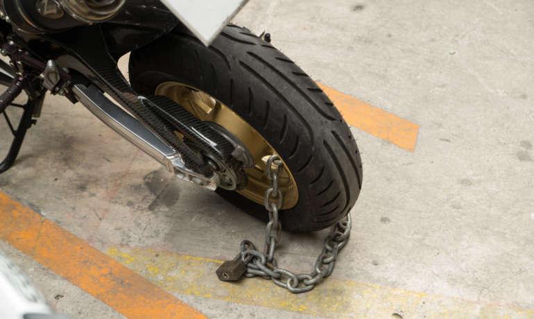 4 motos volées en une semaine : un record