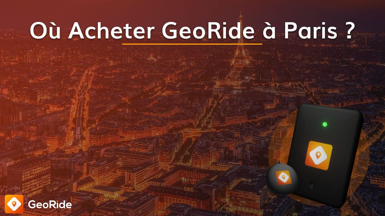 Où Acheter GeoRide à Paris ?