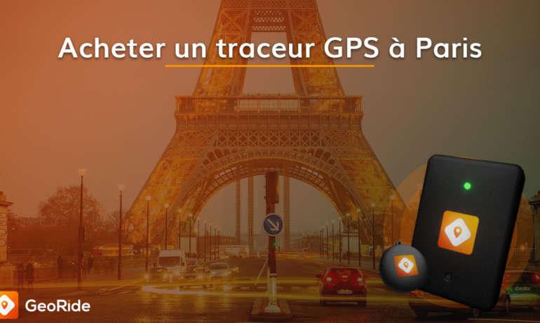 Acheter un traceur GPS moto à Paris