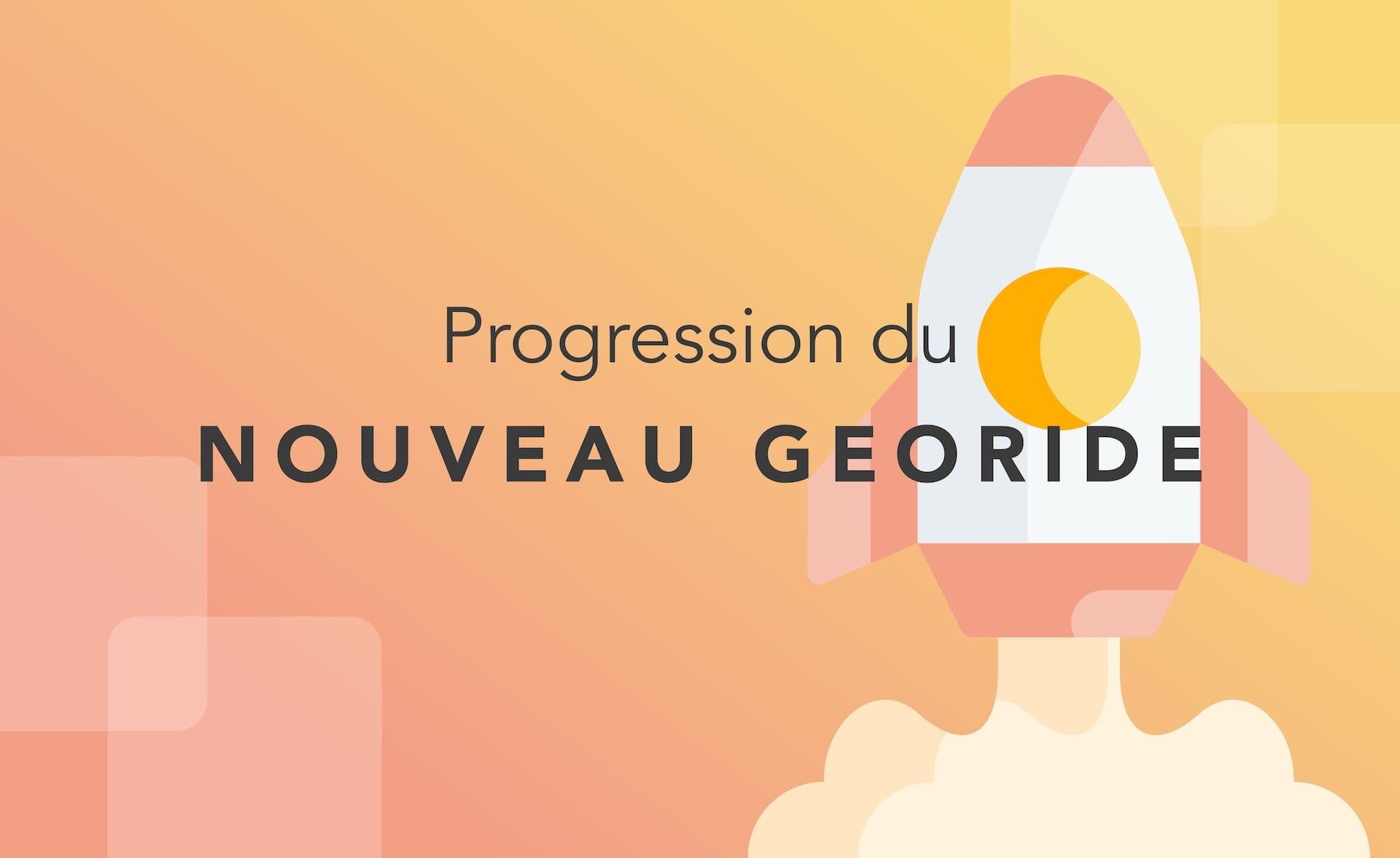 GeoRide 3 : la progression