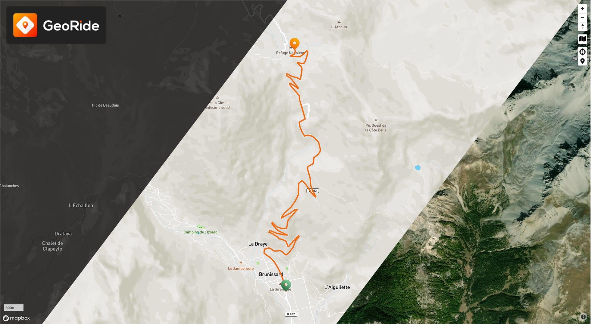 Suivi de la position GPS de sa moto depuis un navigateur web