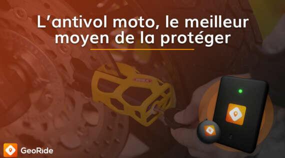 L'antivol moto, le meilleur moyen de protéger votre deux roues