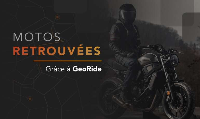 24 motos volées retrouvées en 2020 grâce au Tracker GPS GeoRide
