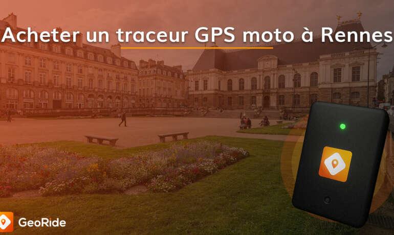 Acheter un traceur GPS moto à Rennes